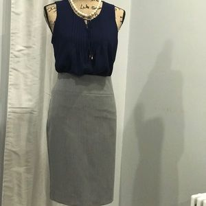 NWT Alfani grey pencil skirt size 12